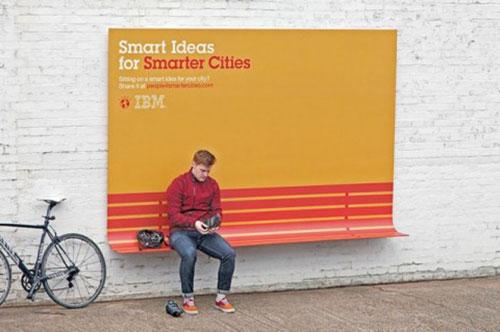 IBM-アンビエント広告