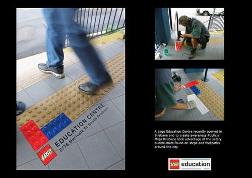 LEGO-アンビエント広告