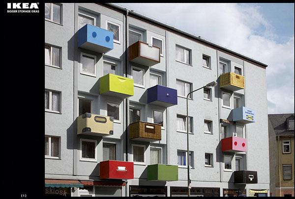 IKEA-OOH広告