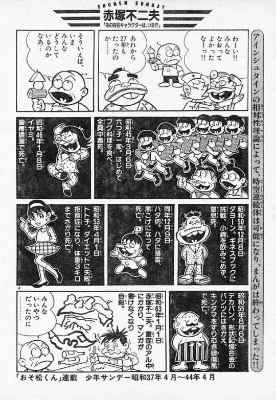 赤塚不二夫-あの有名キャラクターは、いま