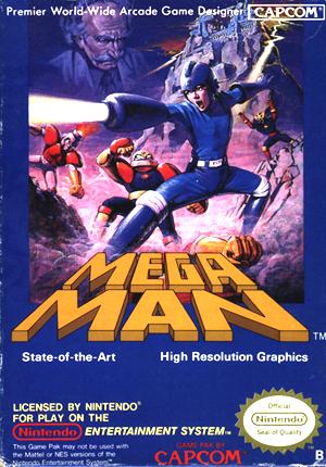 Mega Man1・ユーロバージョン