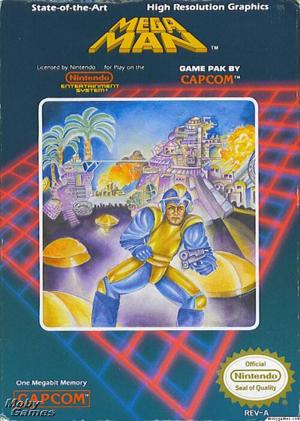 Mega Man1・USバージョン
