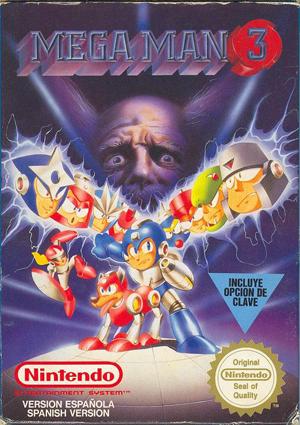 Mega Man3・ユーロバージョン