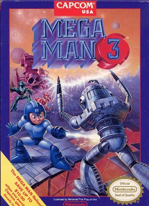 Mega Man3・USバージョン