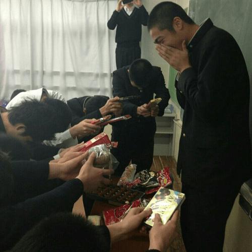 男子校のバレンタインの元ネタ