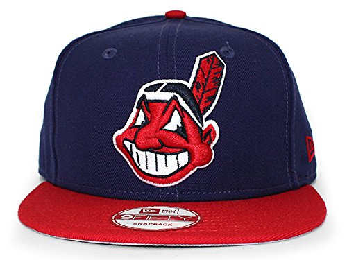 (ニューエラ) NEW ERA CLEVELAND INDIANS 【REPLICA HOME SNAPBACK/NAVY-RED】 クリーブランド インディアンス